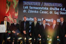 Golden innovation team sitagliptin (diabetes) – Lek and Faculty of Pharmacy