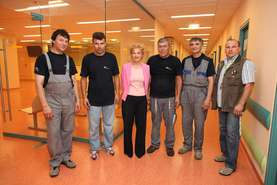 Marinka Purkart, Chief Nursing Officer at the Pediatric Clinic, thanked for Lek help
