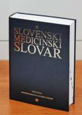 Expanded third edition of Slovenian Medical Dictionary, issued with financial support from Lek - like the first and second edition