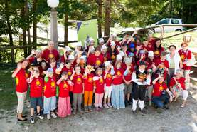 Lek Sunshine Games once again entertain children in Kranjska Gora