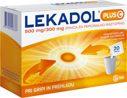 Lekadol<sup>®</sup> plus C 500 mg/300 mg